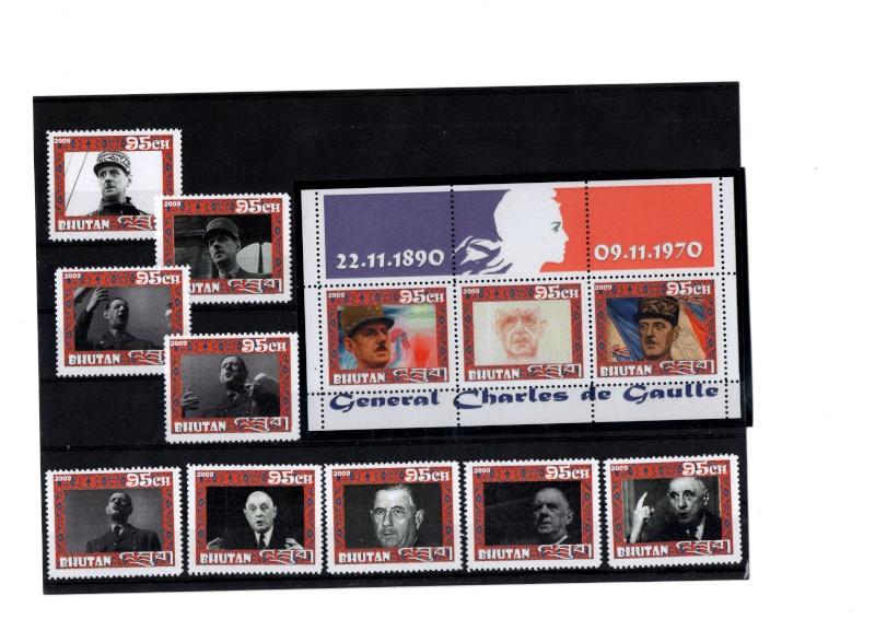 Général de Gaulle Bhutan14