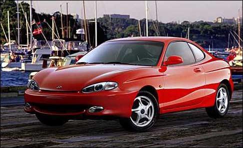 The history of Hyundai Scoupe. Car_6510
