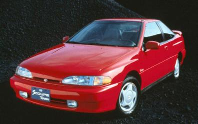 The history of Hyundai Scoupe. Hyunda12