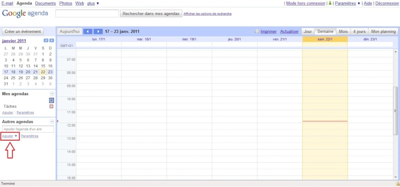 [TUTO] Anniversaires FaceBook dans votre calendrier WP7 Import11