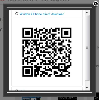 [INFO] Smart QrCode Generator : Une extension Google Chrome élaborée pour nos WP7 Qrcode11