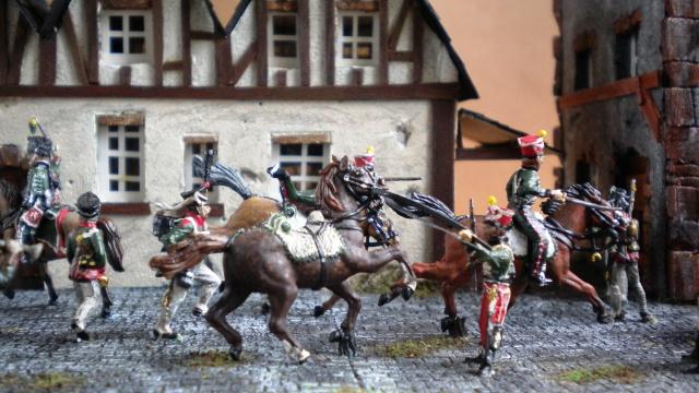 Gardes d'honneur à Reims au 1.72  00416