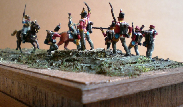 Carabiniers . Infanterie Anglaise . 1/72 00715