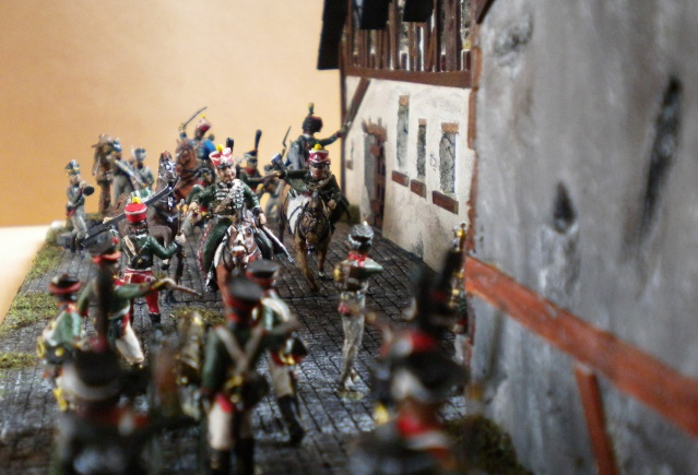 Gardes d'honneur à Reims au 1.72  00813