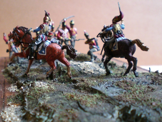 Carabiniers . Infanterie Anglaise . 1/72 01223