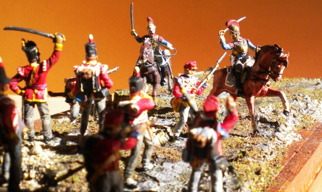 Carabiniers . Infanterie Anglaise . 1/72 04311