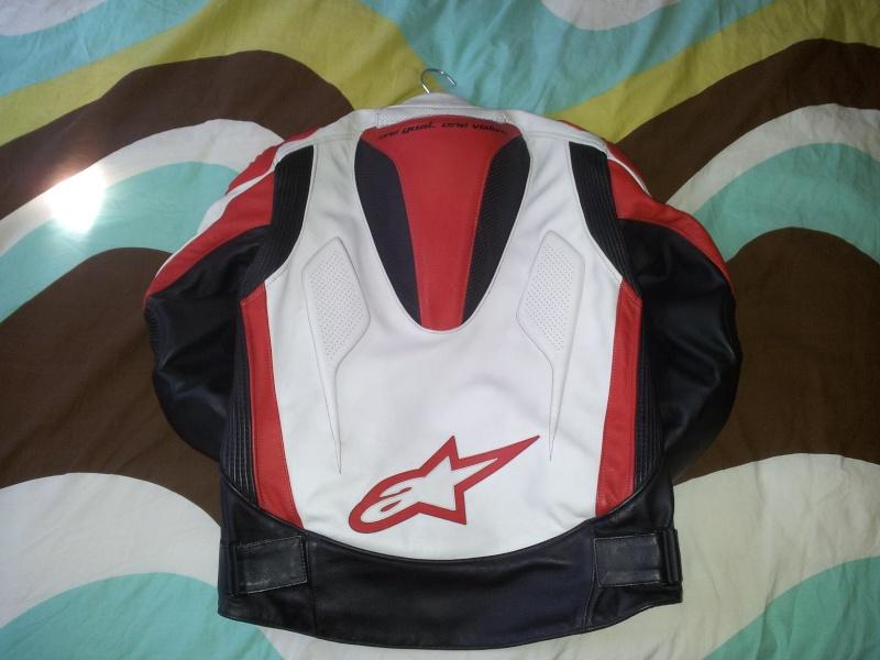 [VENDS] Blouson Alpinestars Tech 1-R Rouge/Blanc T50 20120911