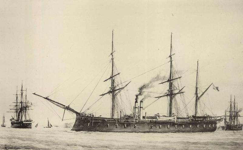 monographie d u0026 39 un navire 1860  1880