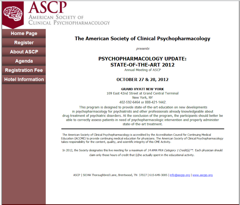 SAVE THE DATE! ASCP Fall 2012 CME Meeting Untitl10