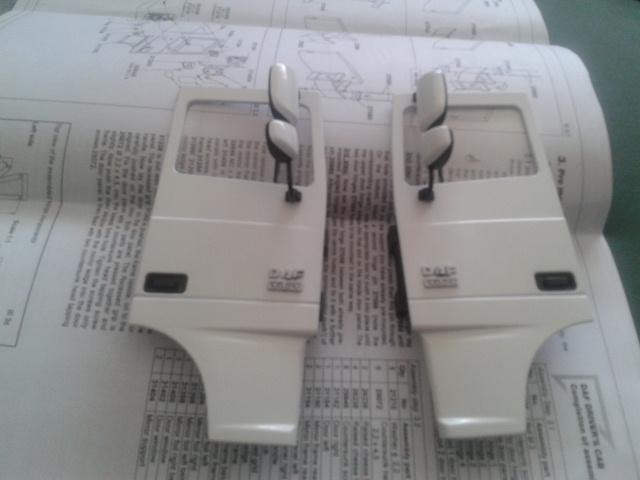 """DAF XF 105 ssc 510cv, """"Heavy White"""" 2012-021"""