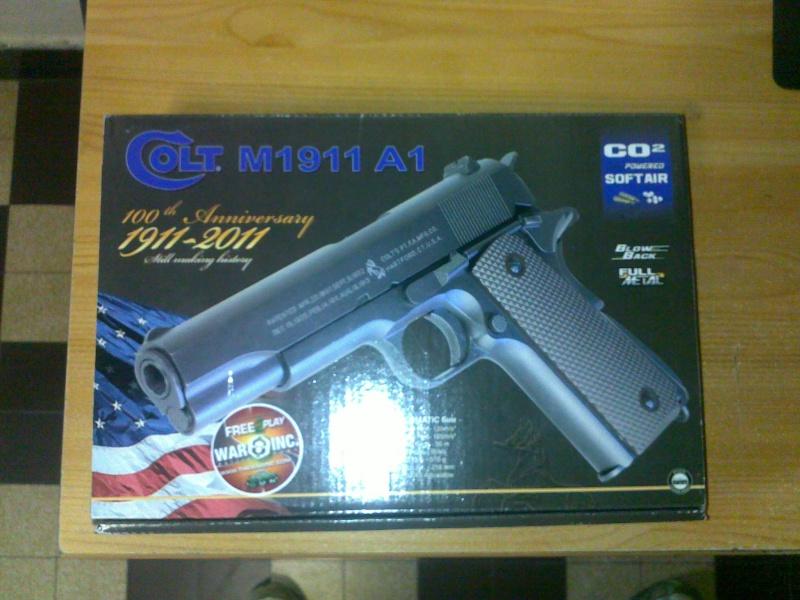 Rewiew: Colt 1911A1 Co2 KWC, repack Cybergun! 23102010