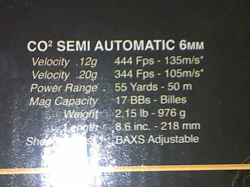 Rewiew: Colt 1911A1 Co2 KWC, repack Cybergun! 23102011