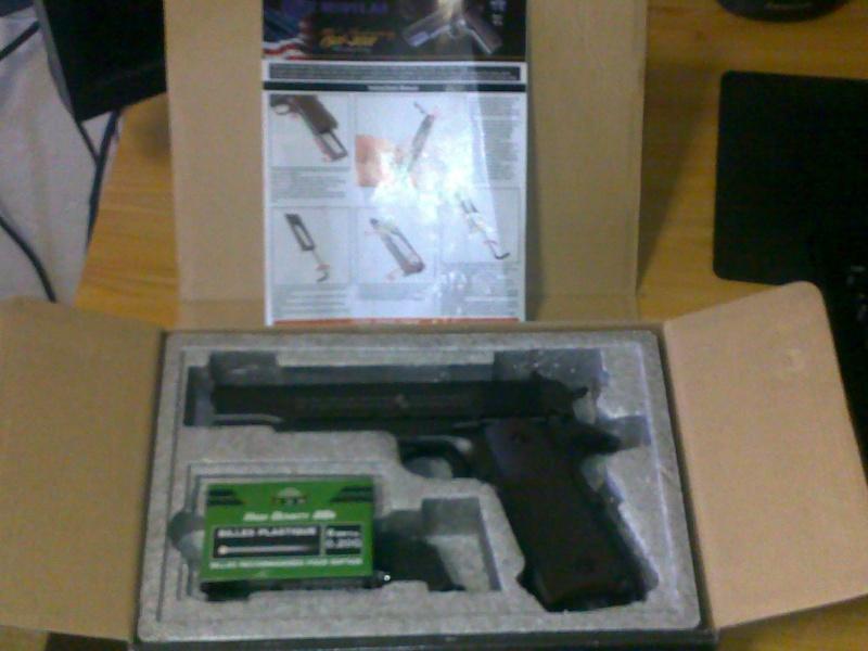 Rewiew: Colt 1911A1 Co2 KWC, repack Cybergun! 23102012