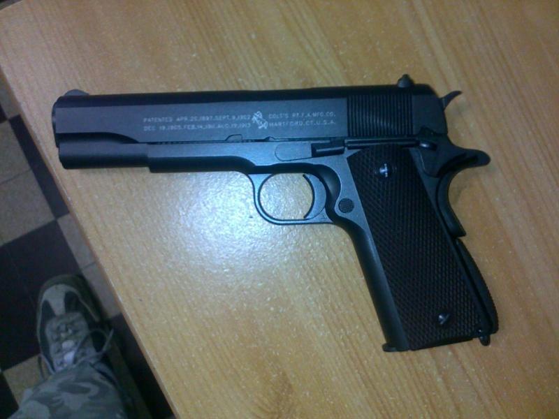 Rewiew: Colt 1911A1 Co2 KWC, repack Cybergun! 23102013