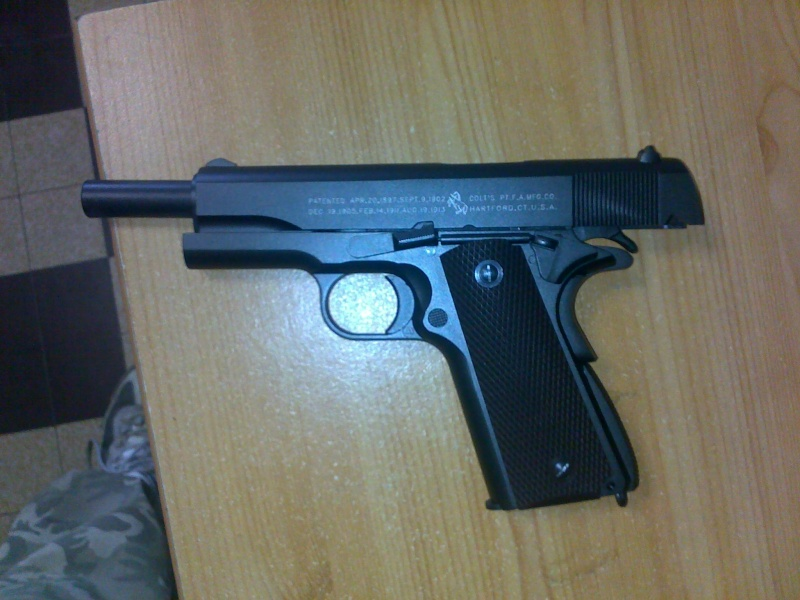 Rewiew: Colt 1911A1 Co2 KWC, repack Cybergun! 23102014