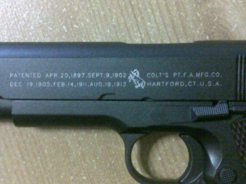Rewiew: Colt 1911A1 Co2 KWC, repack Cybergun! 23102016