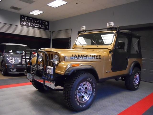 Jeep CJ7: différences entre versions 29615110