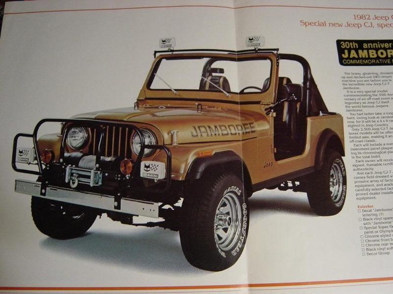 Jeep CJ7: différences entre versions Jeepja10