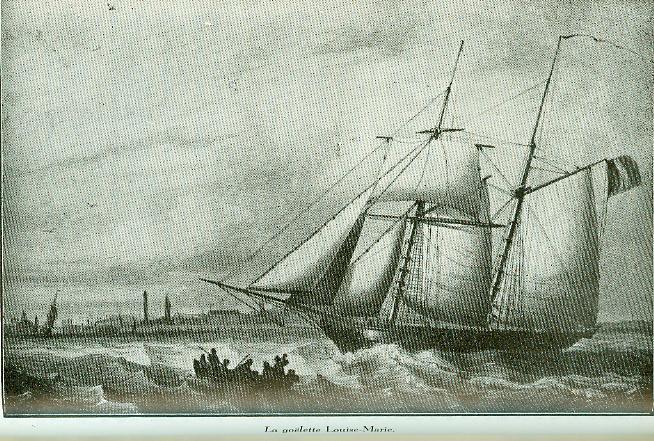 Goélette Louise Marie - 1840 Goelet10
