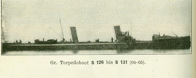 ALLEMAGNE - TORPEDOBOOT S126 à S131 Gr_tor17