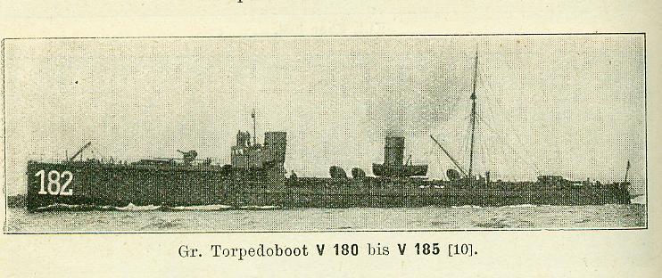 ALLEMAGNE - TORPEDOBOOT V180 à V185 Gr_tor22