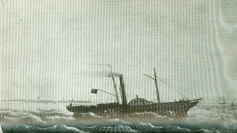 Ville de Bruges - Topaze 1847 Paqueb10