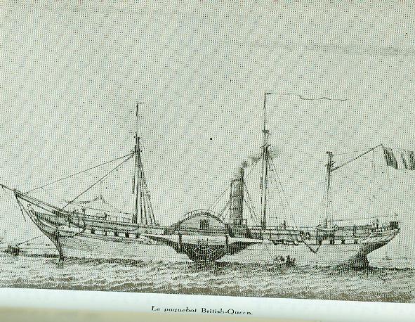 Ligne : Anvers - New York - 1841 Paqueb12