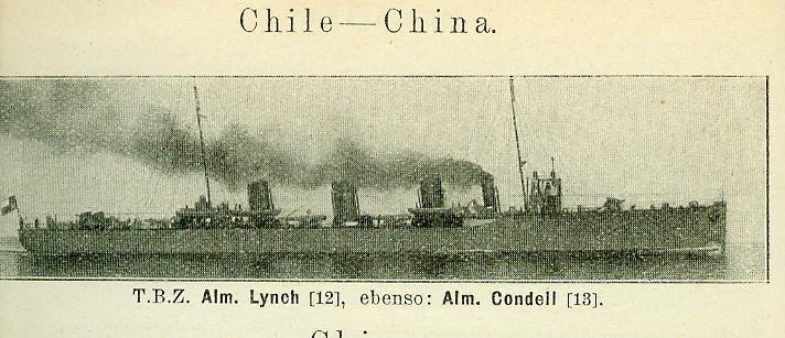 CHILI - ALMIRANTE LYNCH / ALMIRANTE CONDELL T_b_z_12