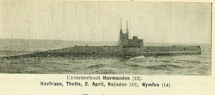 DANEMARK - HAVMANDEN Unters10