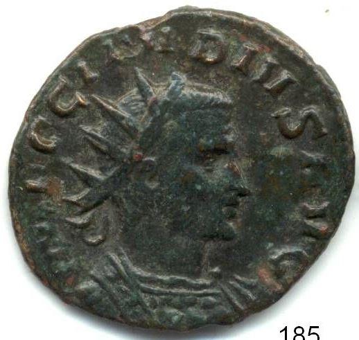 Claudius II bust decoration Bust-c10