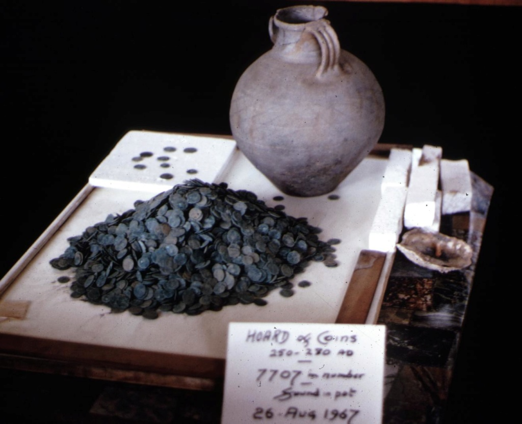The Rockbourne Roman Villa Hoard (Hampshire, UK). Hoard210