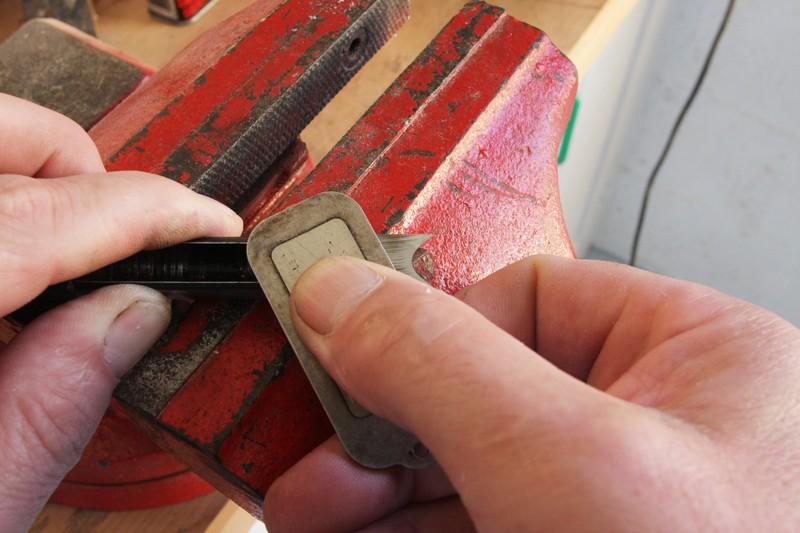 Affutage des bédanes carrés pour mortaiseuses. 26_aou18
