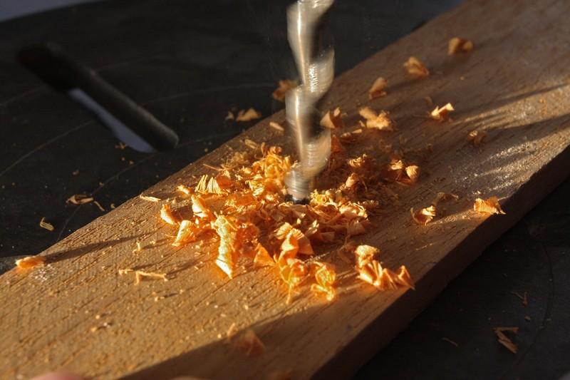 Affutage des bédanes carrés pour mortaiseuses. 26_aou20