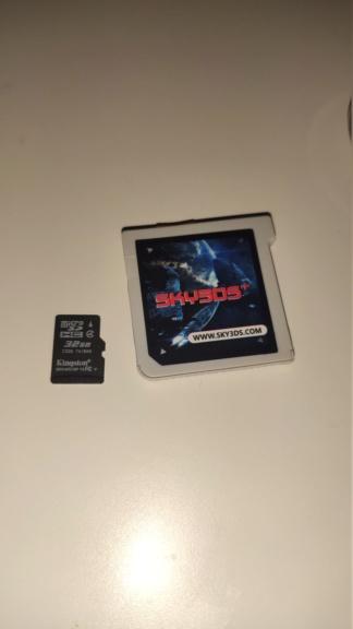 [VENDS] New Nintendo 3DS XL SKY3DS 3ds210