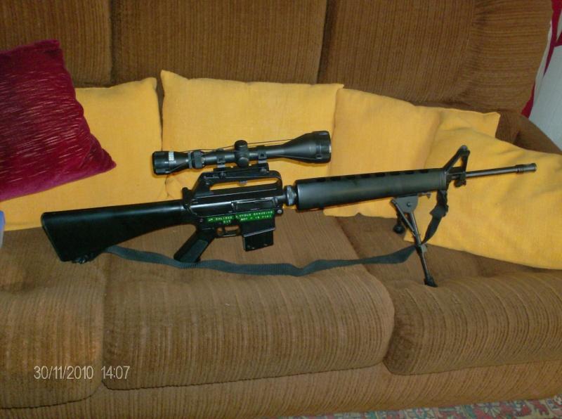 Black rifle Armi Jager AP74 M_16_211