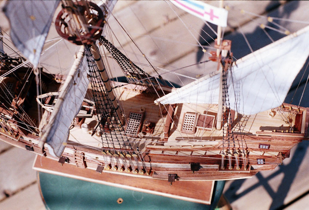 Mayflower 1:65 de Constructo kit #1620. 00510