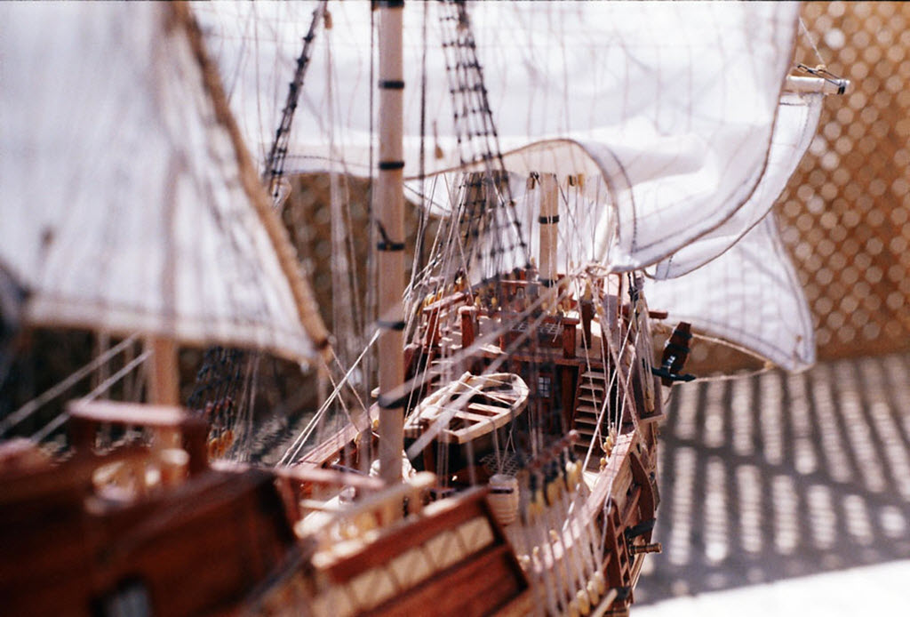 Mayflower 1:65 de Constructo kit #1620. 00610