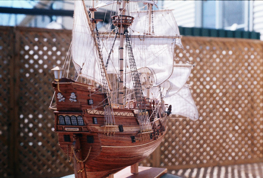 Mayflower 1:65 de Constructo kit #1620. 00710