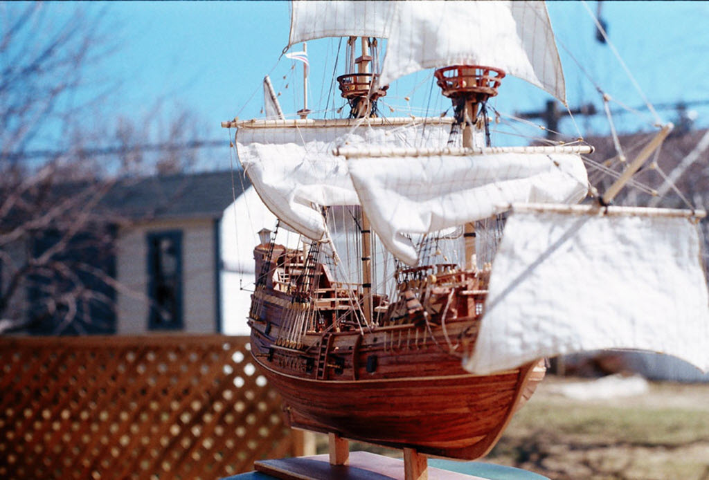 Mayflower 1:65 de Constructo kit #1620. 00910
