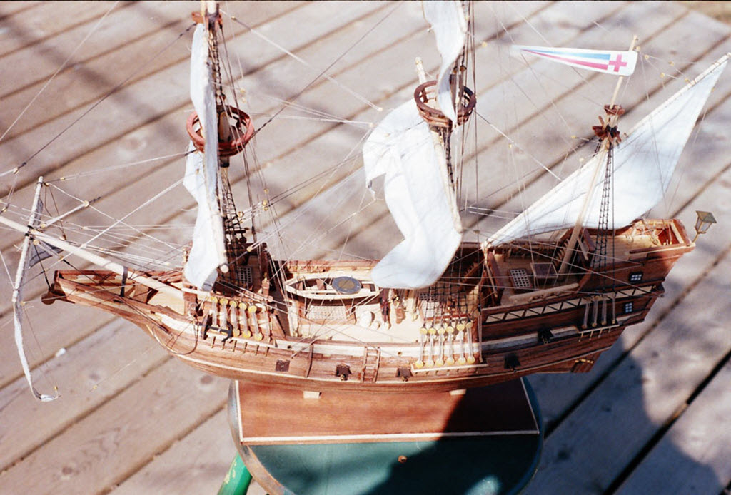 Mayflower 1:65 de Constructo kit #1620. 01110