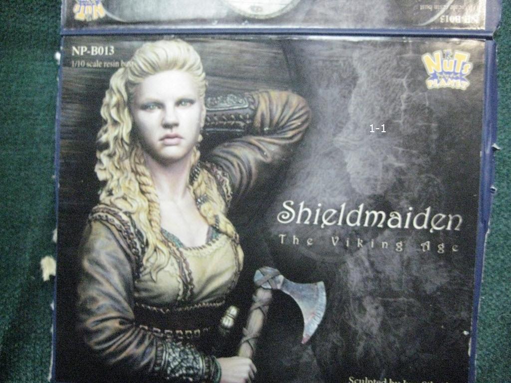Like Lagertha (Shieldmaidens) Nuts Planet buste résine 1/10 1-110