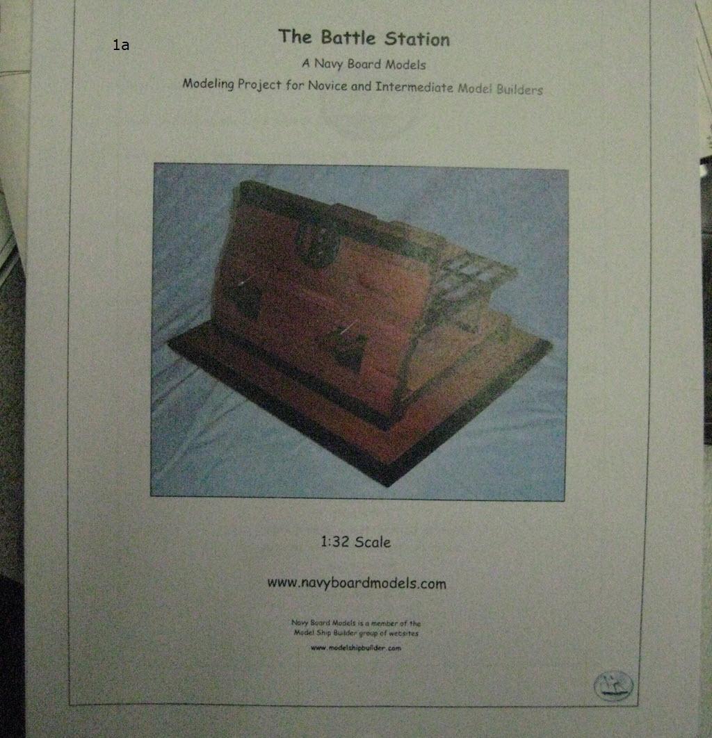 Station de combat 2 ponts 1:32 Anglais 17th siècles 1-a11