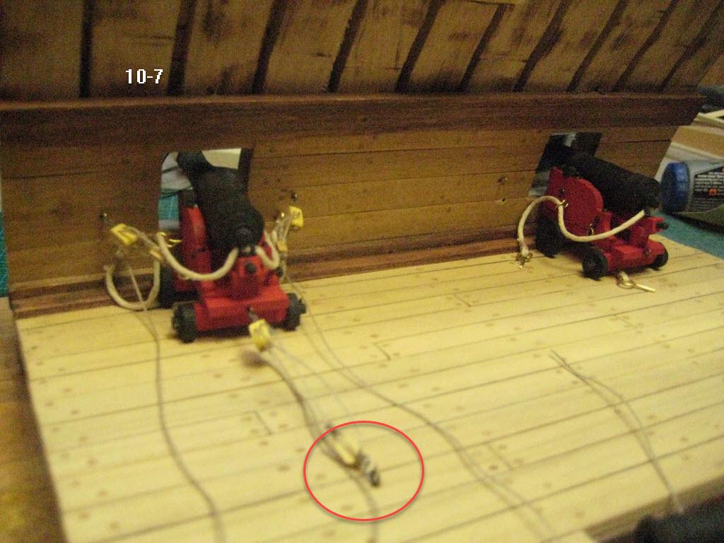 Station de combat 2 ponts 1:32 Anglais 17th siècles - Page 2 10-710
