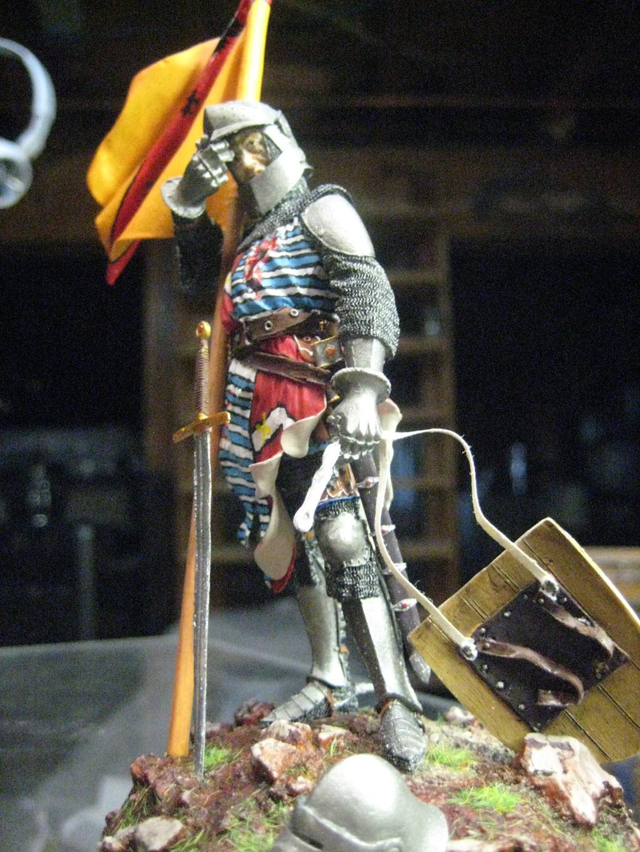 Chevalier Français 1340 copie figurine Pégaso PEG-90023 1018