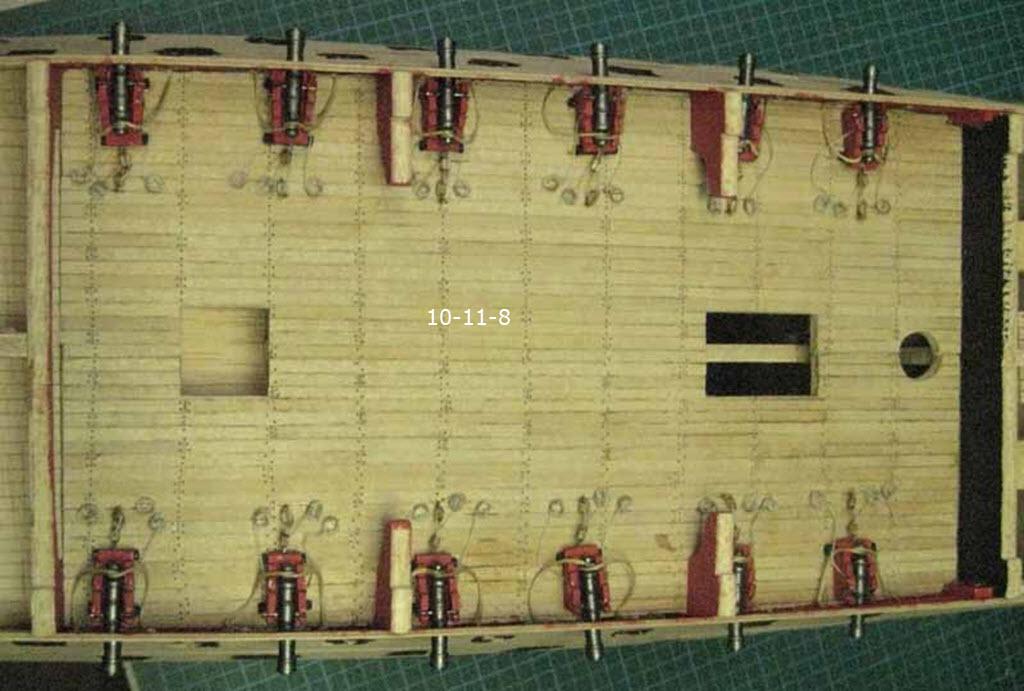 Santisima Trinidad 3/3 Navire Kit OcCre #15800  10_11_14