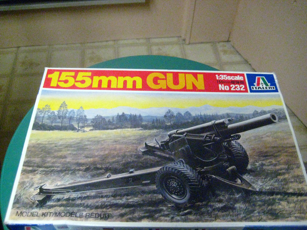 155mm Gun 1:35 Italeri 1122