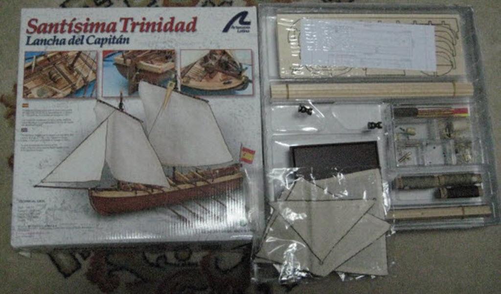 Santisima Trinidad 1/3 Chaloupe du capitaine A.L. kit #10914 115