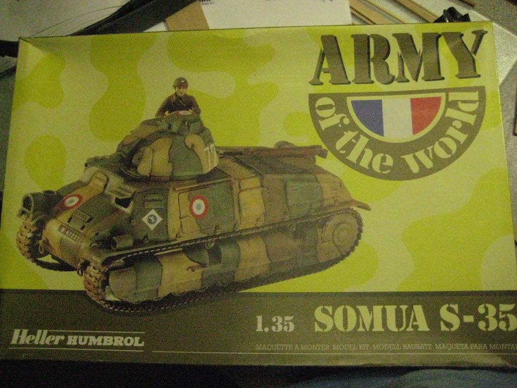 Somua S-35 Heller Humbrol 81170 120