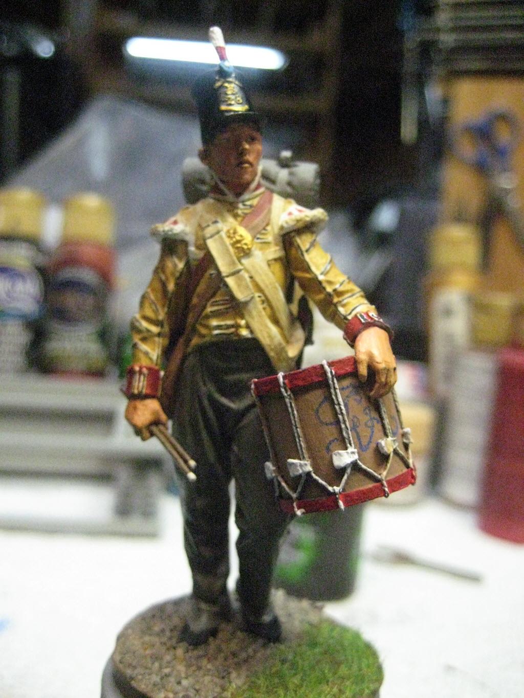 Tambour 28em régiment a pieds (Anglais) Figurine Nuts Planet 75mm (NP-75009) 151