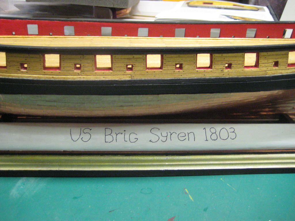 US Brig Syren 1803 Model Shipways MS 2260 - Page 3 1513